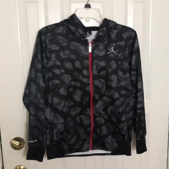 Boys Jordan Therma Fit Camo Jacket L